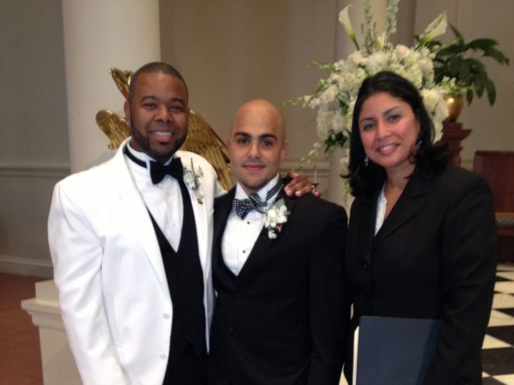Tmx 1386175411074 Steven And Kendric College Point, NY wedding officiant