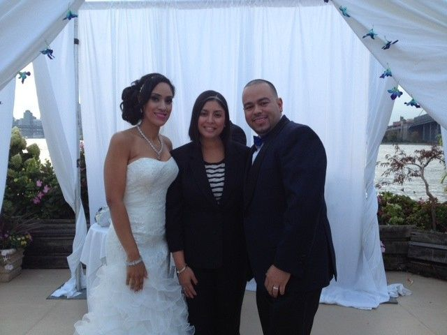 Tmx 1470867878546 Giando By Water Wedding Pic College Point, NY wedding officiant