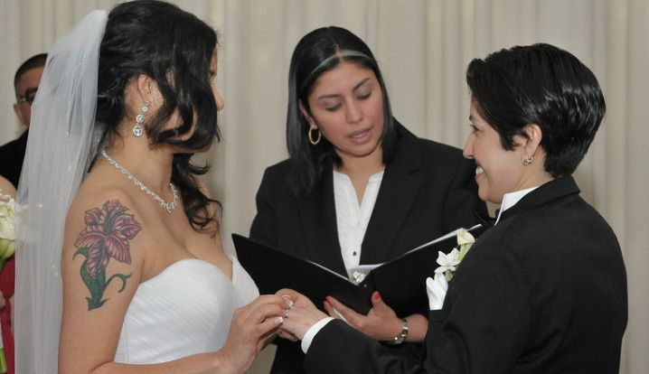 Tmx 1471370486164 Gloria And Ingrid College Point, NY wedding officiant