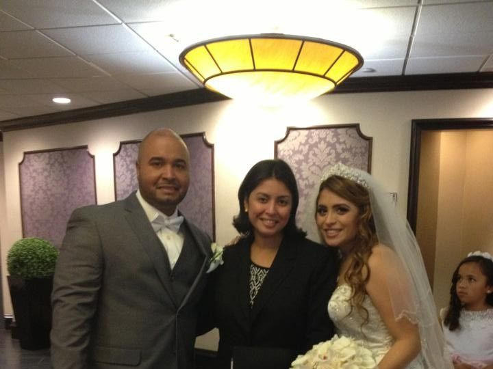 Tmx 1478267363921 Carolyn And Ernesto Pic College Point, NY wedding officiant