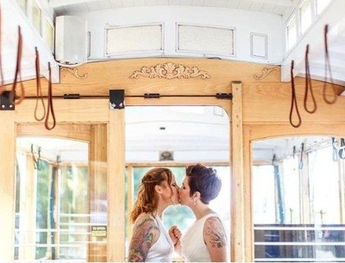 Tmx 1453263888460 Jessandjulietrolleykisscrop Seattle, WA wedding planner
