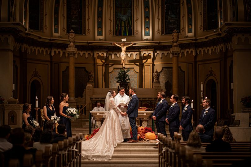St. John's Cathedral wedding