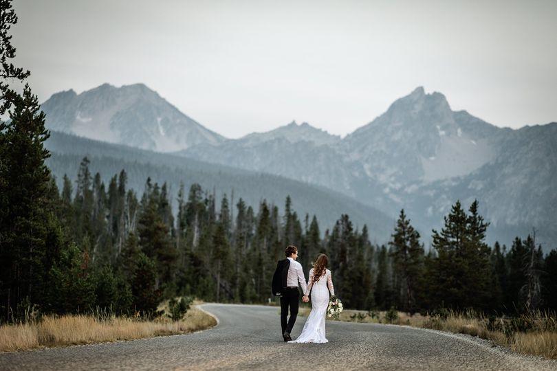 Beautiful Idaho mountains