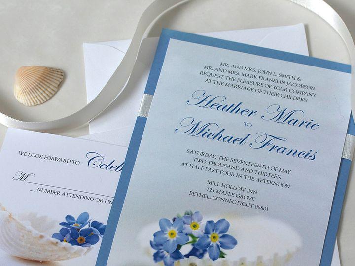 Tmx 1391030281702 Forgtmekntshellinvite Newtown, New York wedding invitation
