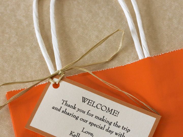 Tmx 1391031107304 Hotelgifttags Newtown, New York wedding invitation
