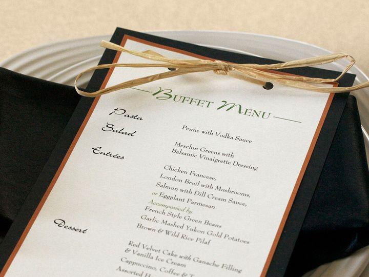 Tmx 1391031125743 Harvestmenu Newtown, New York wedding invitation