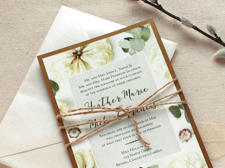 Tmx 1515700104 D0507be2a270fe47 1515700103 C399e2acdacc321c 1515700093594 1 DriedFlwrInvite 1 Newtown, New York wedding invitation