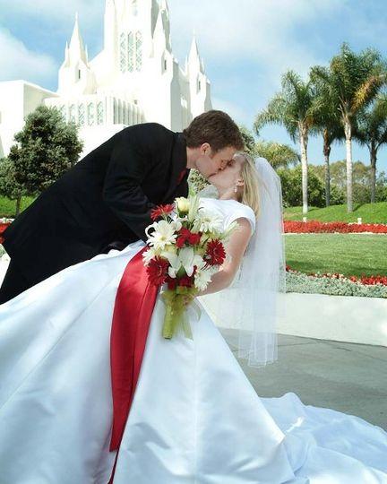 LDS San Diego Temple Wedding