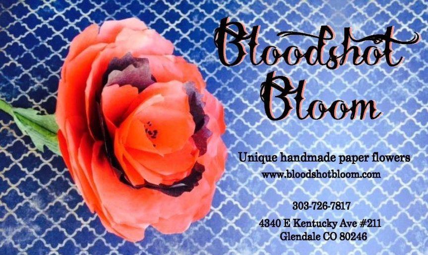 bloodshot bloom bus card