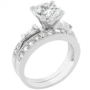 Beautifully set diamond ring