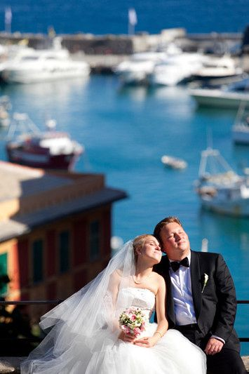 There's nothing like getting married under the warm Italian sun!