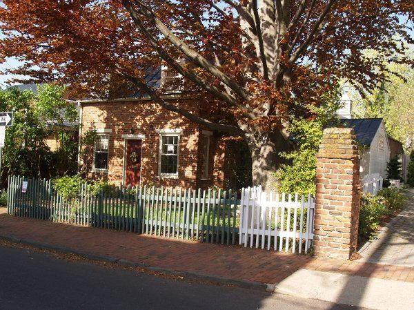 The little brick house is best suited for smaller events.