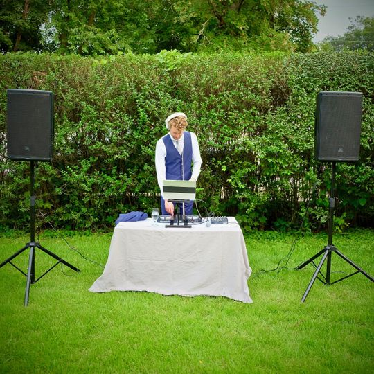 Golden hour DJ set