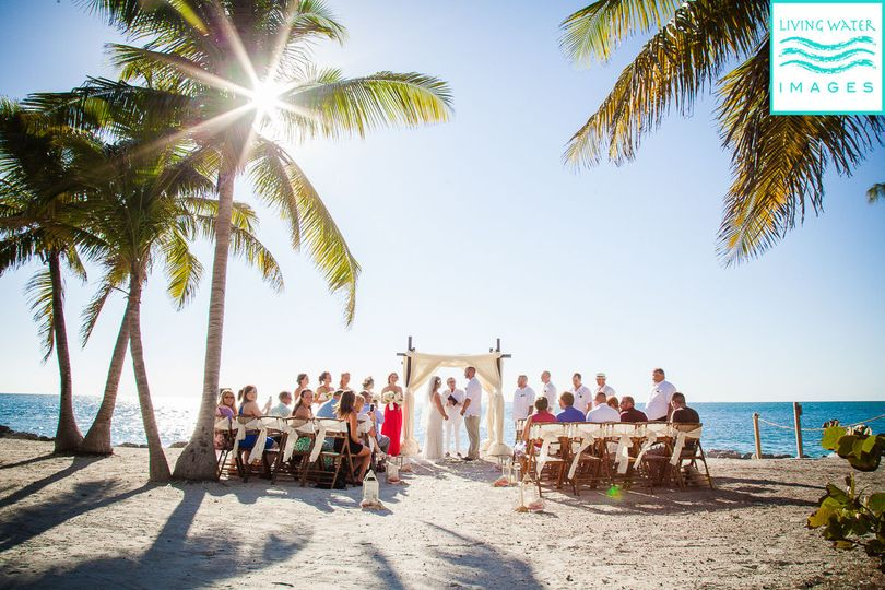 Blessing of a sunshine at Fort Zachary State Park Key West