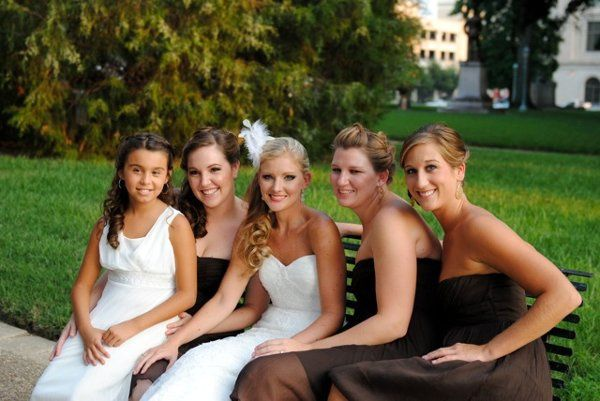WEdding hair and make up Raleigh sept 2011.