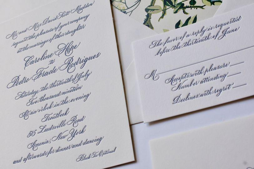 Calligraphy Invitation