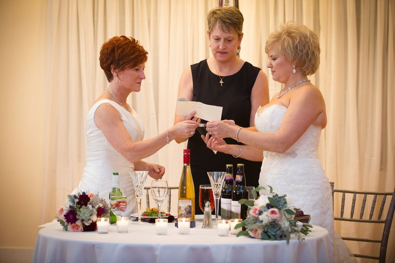 Unity Ritual at Reception
