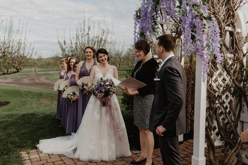 Spring Wedding @ Orchard Creek
