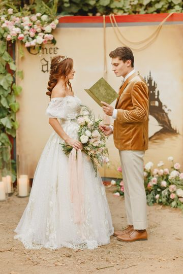 Fairy Tale Style Shoot Ceremon
