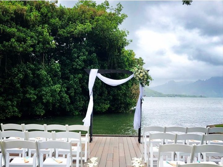 Tmx Arch 2 W Decorations 51 991212 Kaneohe, Hawaii wedding planner
