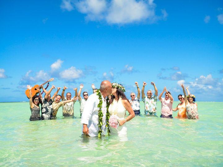 Tmx Kara And Harry Kiss 51 991212 V1 Kaneohe, Hawaii wedding planner
