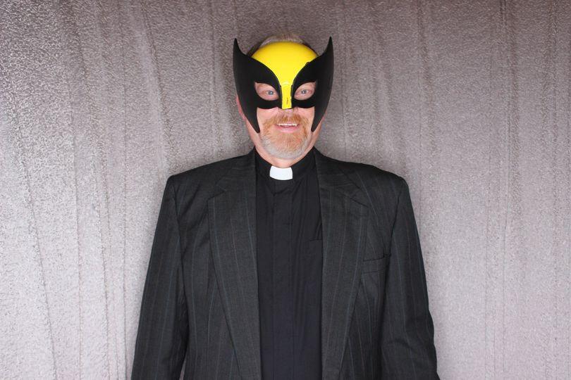 Wolverine booth prop