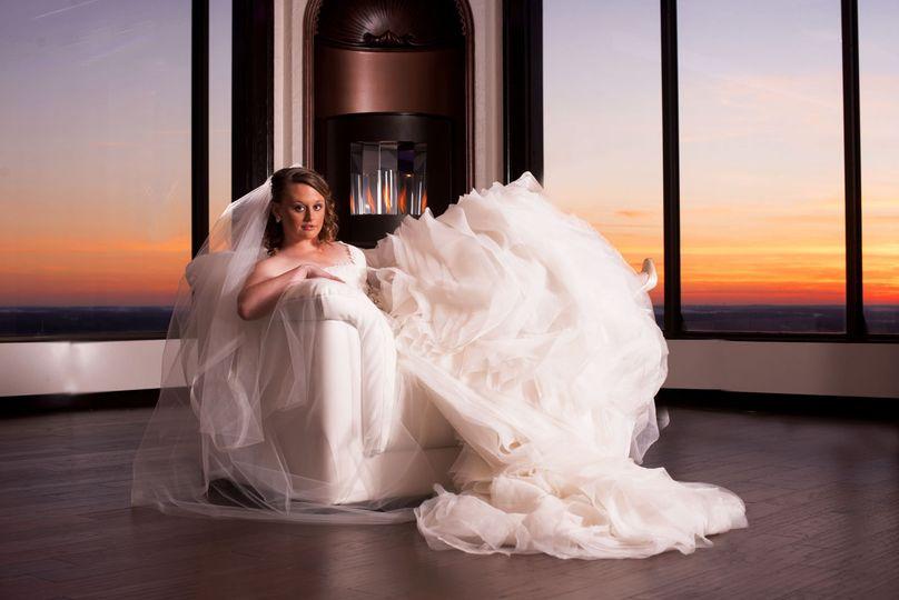 empyrean bride sunset