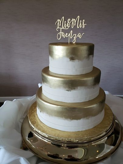 gold painted wedding 51 45212 161309364212353