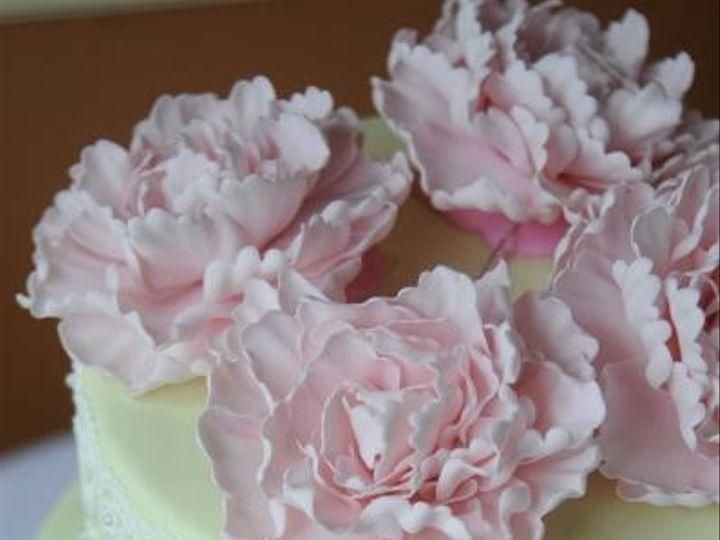 Tmx 1469795362744 Peony Vintage Lace Cake Shrewsbury, MA wedding cake