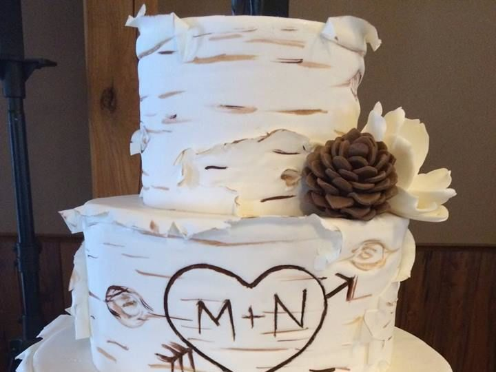 Tmx 1530201455 7a01e511fb079efc 1530201454 3b409b83aa501348 1530201454678 2 Birch Tree Shrewsbury, MA wedding cake