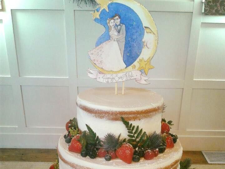 Tmx 1530201574 8ec6490399a62297 1530201574 3d5758b37c8c2799 1530201573693 8 Classic With Fruit Shrewsbury, MA wedding cake