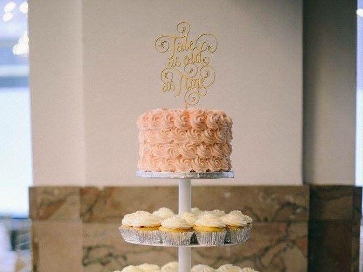 Tmx 1530201711 4518682b5f2bbd5c 1530201710 C8a456753b1cf2a6 1530201710616 20 Rosette Rose Cake Shrewsbury, MA wedding cake