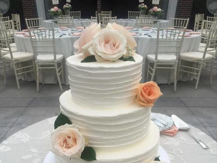 Tmx 1530201719 76c075fd4071951b 1530201719 3d2c3192fb647a6b 1530201718744 21 Simple   Textured Shrewsbury, MA wedding cake