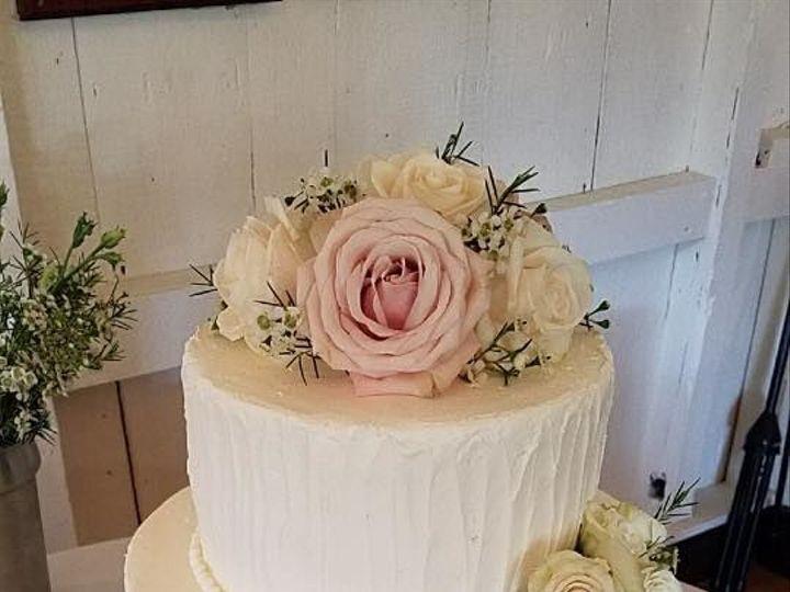 Tmx 1530201744 F4563ee205af9bd4 1530201744 4928cb3c337a3c78 1530201743777 25 Textured Pastel Shrewsbury, MA wedding cake