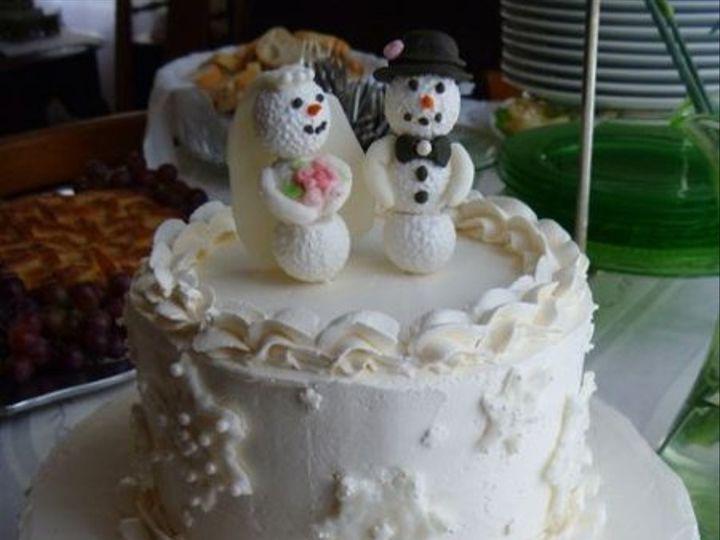 Tmx 1327167093341 Snowmencake West Chester wedding cake