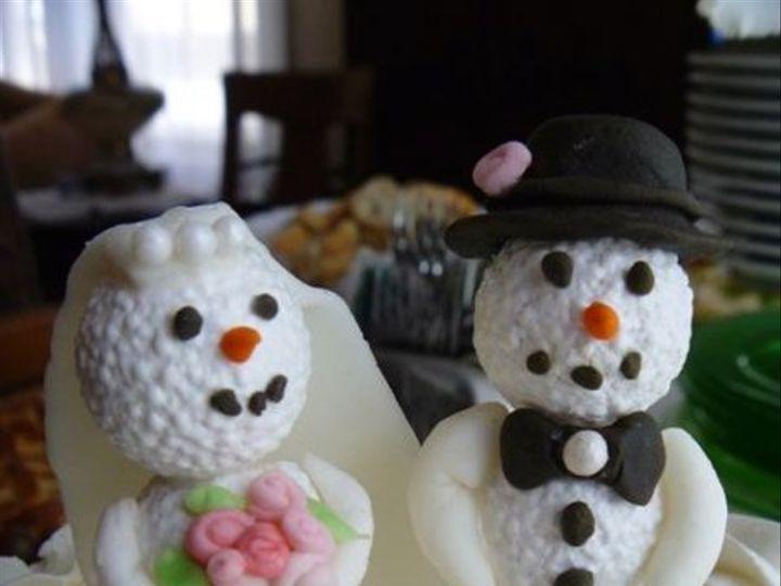 Tmx 1327167109691 Snowmenclose West Chester wedding cake