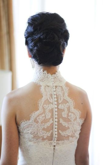 Lace details
