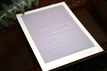 One of the 9 Signature Lines by Cain Wedding Stationery. Pick a design and we will work together to...