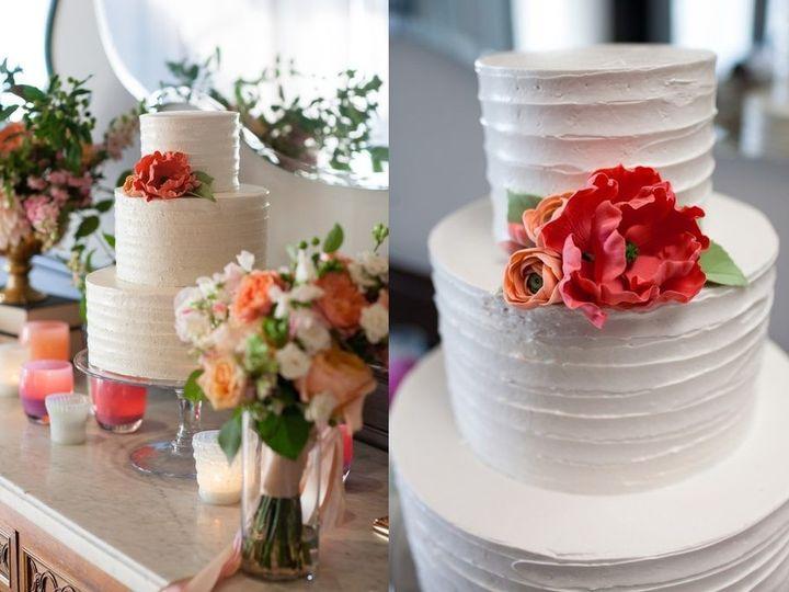 Tmx 1394738051896 Buttercream Cake With Sugar Flower Seattle wedding cake