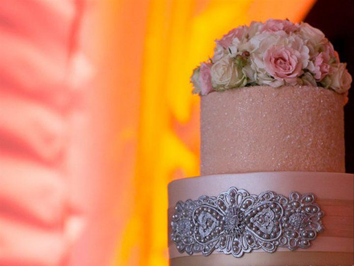 Tmx 1394738113134 Sparkling Blush Pink Cake With Edible Silver Sas Seattle wedding cake