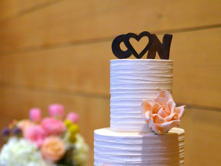 Tmx 1402459452793 Ombre Buttercream Cake With Sugar Roses And Chocol Seattle wedding cake