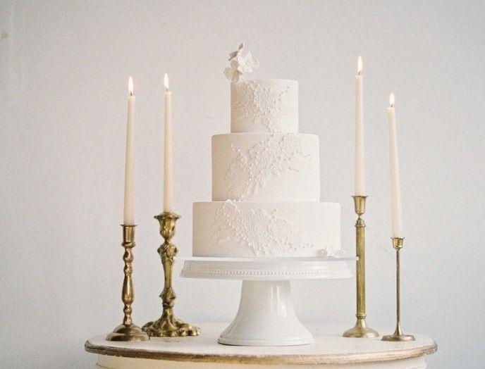 Tmx 1432001858140 White On White Seattle wedding cake