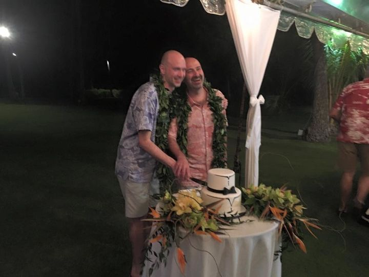 Tmx 1501720722236 Lorenzo And Massi Cutting The Cake Honolulu, HI wedding planner