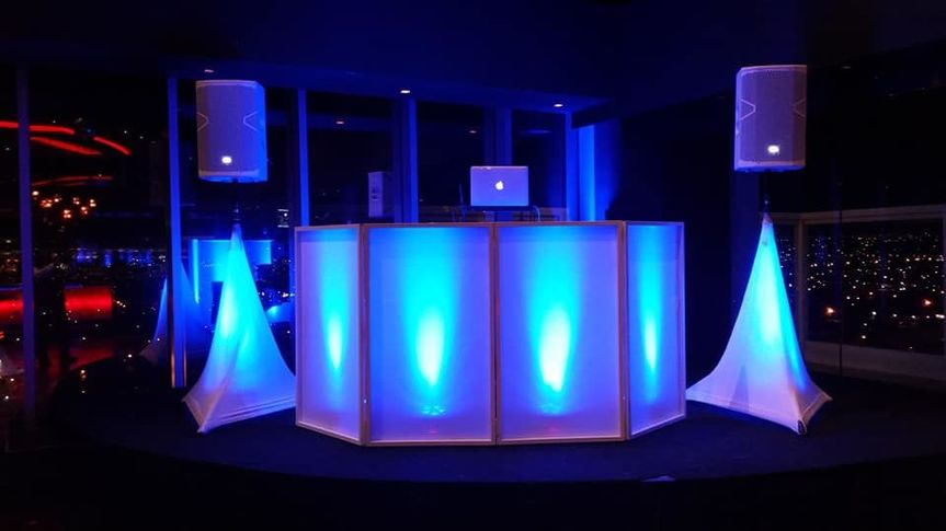 LED DJ Booth