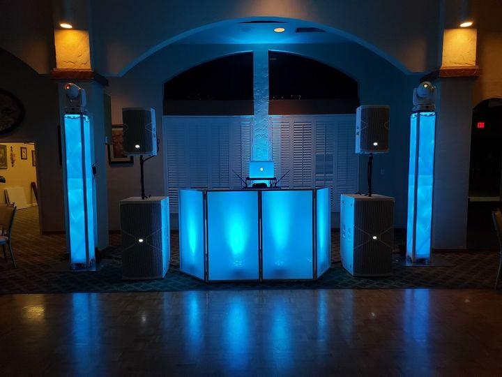 DJ Booth with Facade