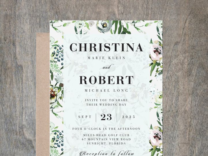 Tmx Creamfloral 51 657212 Albany wedding invitation