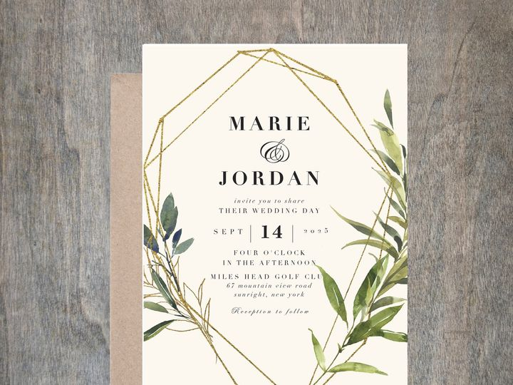 Tmx Green3 51 657212 Albany wedding invitation