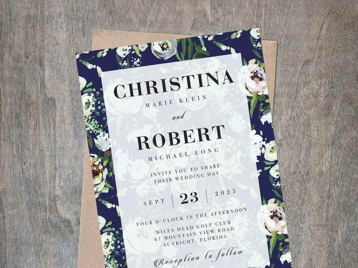 Tmx Newblue 51 657212 V1 Albany wedding invitation