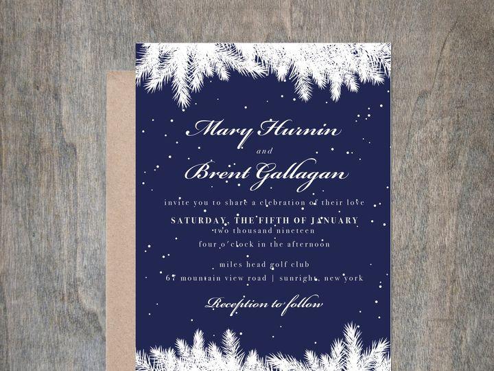 Tmx Winter3 51 657212 V1 Albany wedding invitation