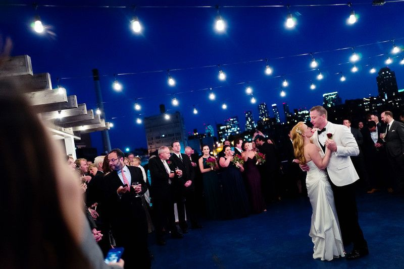 Erin + Robby + Cafe Wha Band! World Yacht Hudson River {Photo Courtesy The Blonde Photographer}
